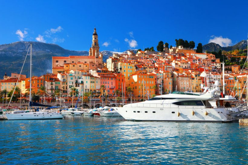 25126428 – menton -beautiful town in south of france
